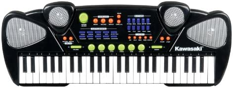 Kidztoyz Ssonic Keyboard 49 Keys, Silver - 5 Years And Above