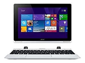 Acer Aspire Switch 10 SW5-011 10.1-inch Convertible Tablet PC with Keyboard (Atom Z3740 1.33GHz, 2GB RAM, 64GB Memory, eMMC, WLAN, BT Webcam, Windows 8.1, Microsoft Office Included)