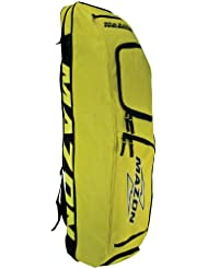 Mazon Fusion Combo Bag - Bolsa para material de hockey sobre hierba, color amarillo, talla Size 6