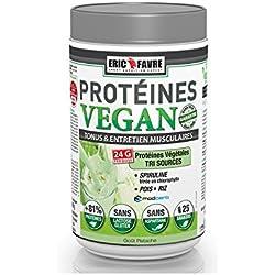 Eric Favre Protéines Vegan 750 g - Vanille