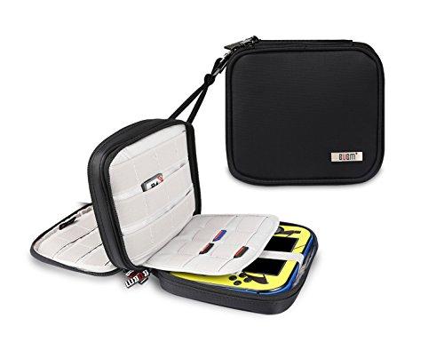 Nintendo 2DS Tasche, Tragetasche für Nintendo 2DS Schutzhülle für Nintendo Konsole & Accessoires (Schwarz)