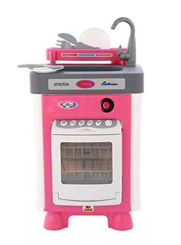 polesie 47922Carmen Küche mit Geschirrspüler Spielzeug
