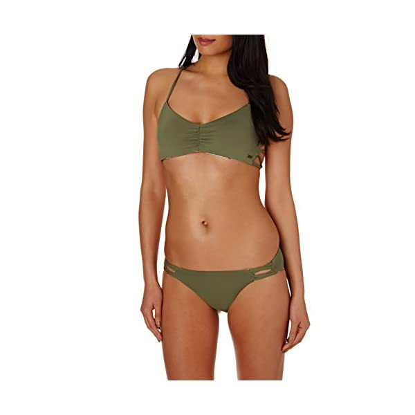 Roxy Strappy Love – Parte de Abajo de Bikini años 70 para Mujer ERJX403466