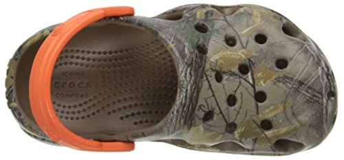 Crocs Swiftwater Realtree Xtra Clog Walnut/Tangerine