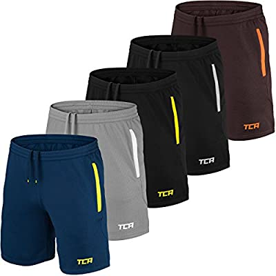 TCA Mens & Boys Aeron Gym or Running Shorts with Pockets