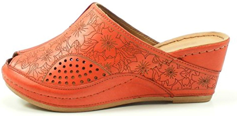 Gemini Damen Pantolette/Hausschuh Weiß 31509-02 001 2018 Letztes Modell  Mode Schuhe Billig Online-Verkauf