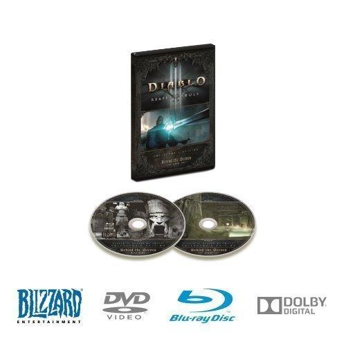 Preisvergleich Produktbild Diablo III: Reaper of Souls - Behind the Scenes DVD and Blu-ray Disc Two-Disc Set