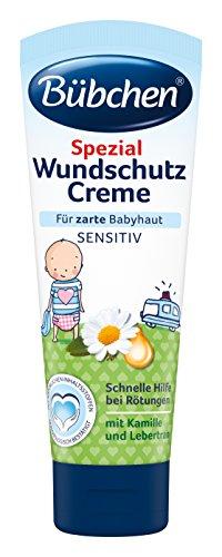 Bübchen Spezial Wundschutz Babycreme, 2er Pack (2 x 75 ml)