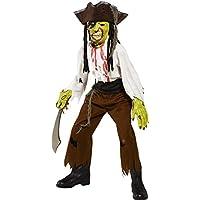 Cut Throat Pirate Costume Boy Fancy Dress