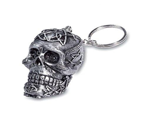 Porta chiave, stile gotico, cranio celtico
