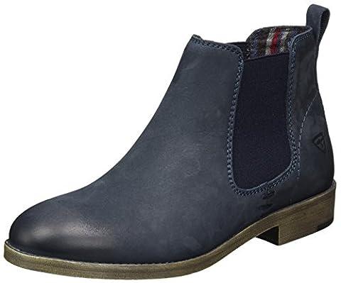 Tamaris Damen 25071 Chelsea Boots, Blau (Navy), 41