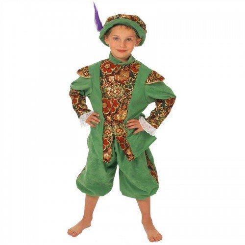 n Duke of Albany Reich Schottisch Stuart historisch Lehrplan büchertag Kostüm Kleid Outfit - Grün, Grün, 10-12 years (152cms) (Historische Kostüme)