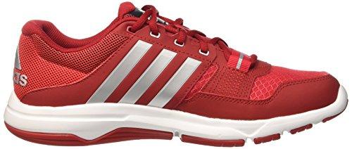 adidas Herren Gym Warrior .2 Fitness-Schuhe Multicolore (Rayred/Silvmt/Powred)