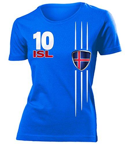 ISLAND FANSHIRT 4299 Damen T-Shirt (F-B) Gr. S