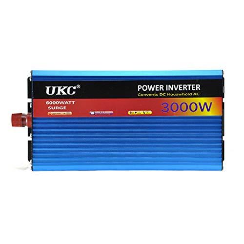 ZHJYD 2000W Auto Wechselrichter High-Power 24V / 220V3000W Wechselrichter zur Verfügung Mikrowelle Induktionsherd Wasserpumpe.