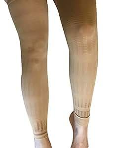 Coppia di supporti comprimenti per gambe unisex - Calze da aereo - Leggere e traspiranti