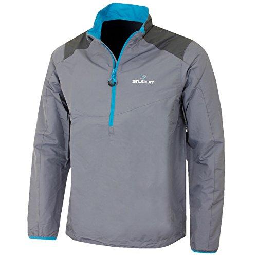 Stuburt 2016 Vapour Half Zip Thermal Mens Waterproof Golf Windshirt Storm XL Half Zip Thermal