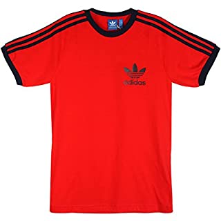 Adidas Essentials Men's Sport T-Shirt - Red - Medium