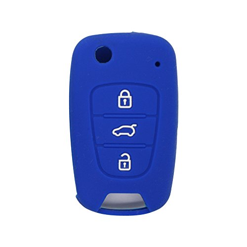 fassport-silicone-cover-skin-jacket-fit-for-hyundai-kia-3-button-flip-remote-key-case-cv2152-deep-bl