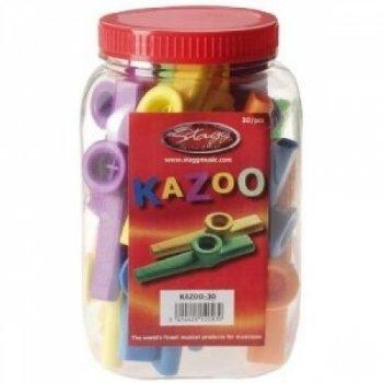 Preisvergleich Produktbild Stagg 12100 Kazoo-Pfeifen bunt
