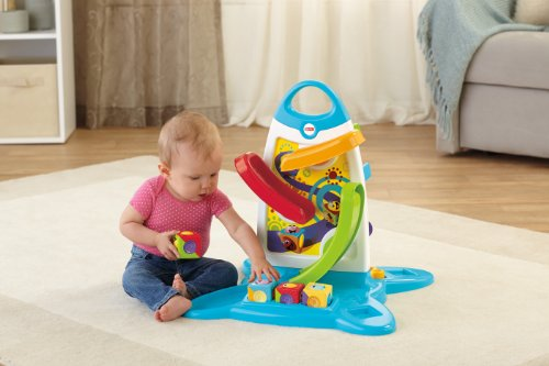 Fisher Price Roller Blocks Play Wall Vos Fg De