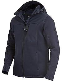 FHB Maximilian Hybrid-Softshelljacke 79900, Farbe:marineblau;Größe:XL