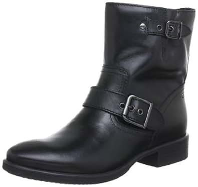 tamaris womens tamaris biker boots black schwarz black 001 size 8 shoes bags. Black Bedroom Furniture Sets. Home Design Ideas