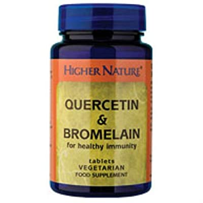 (2 Pack) - Higher Nature - Quercetin & Bromelain | 60's | 2 PACK BUNDLE