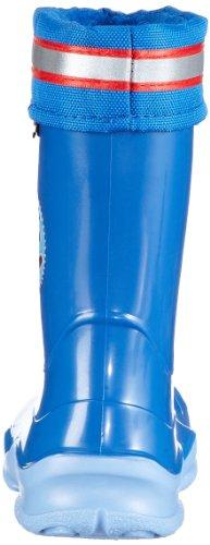 Felix, der Hase 120085, Bottes à enfiler garçon Bleu - Blau (blau 5)