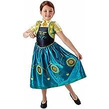 Rubie's - Disfraz Anna de Frozen para niñas, talla S (I-610903S)