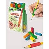 Lebez 104052.03Pencil Grip, poignée caoutchouc pour crayon, boîte de 40pièces