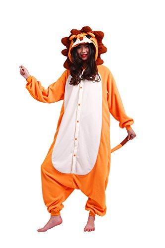 Imagen de magicmode unisex de dibujos animados de cosplay pijamas anime animales disfraces de adultos sudadera con capucha enterizo kigurumi pijamas león xl