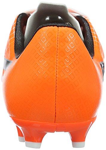 Puma Unisex-Kinder Evospeed 4.5 Fg Jr Fußballschuhe Weiß (puma white-puma Black-SHOCKING Orange 03)