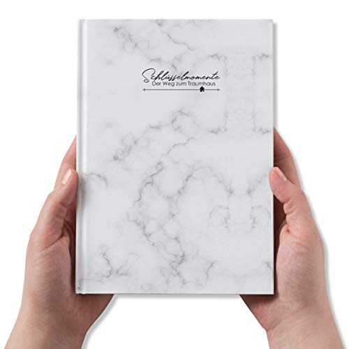 Bautagebuch Edition MIDI zum Ausfüllen und Ankreuzen, Tagebuch für den Hausbau, Budgetplanung/Bauzeitenplan/Erinnerungsbuch für Neubau, Umbau und Renovierung