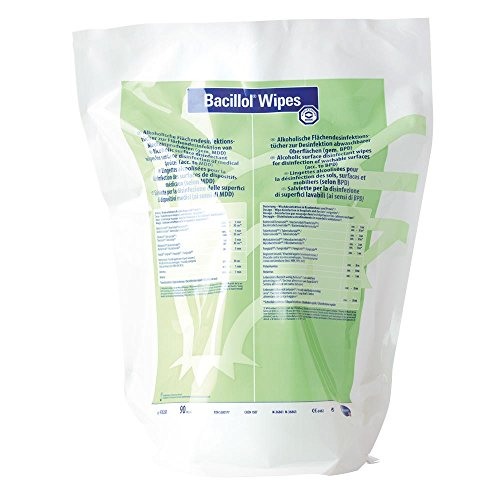BACILLOL WIPES  ATRIL SUELO - BOLSA CON 90 BORDADAS