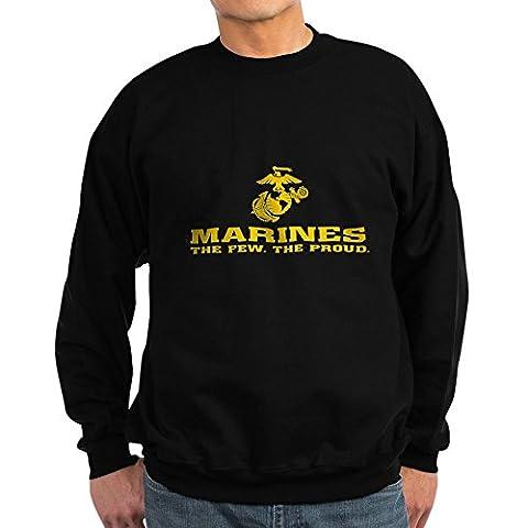 CafePress - Marines - Classic Crew Neck
