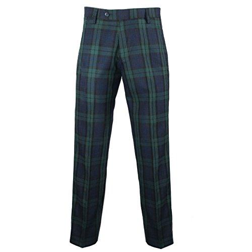 Murray - Herren Golfhose - traditionelles schottisches Tartanmuster - Black Watch-Tartanmuster - 38W / 33L (Traditionelle Kostüm Schottland)