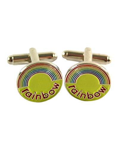 Hommes - Official - Rainbow - Bouton De Manchette