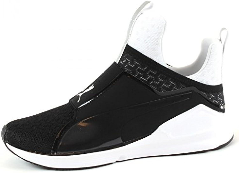 Puma Fierce Eng Mesh black white 2018 Letztes Modell  Mode Schuhe Billig Online-Verkauf