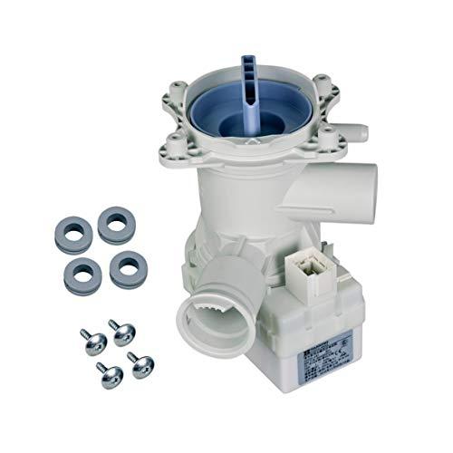 Laugenpumpe mit Flusensieb für Waschmaschine Trockner Bosch Siemens 00145093
