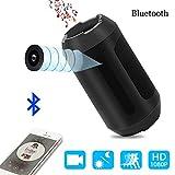 Mini Kamera 1080P Bluetooth Lautsprecher Kamera Nanny Video Cam Sicherheit für Haus und Büro mit Bewegungserkennung, Nachtsicht