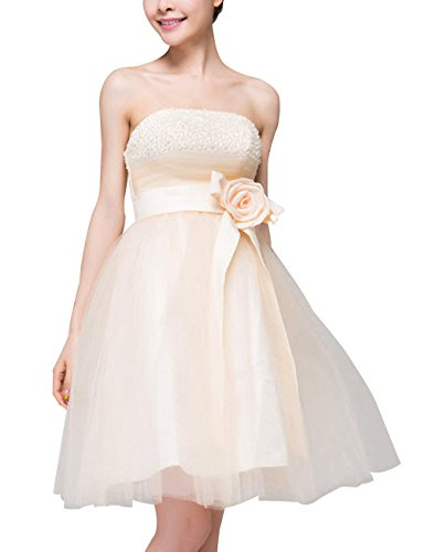 Lactraum LF4103 Brautjungfernkleid Ballkleid Abendkleid Abschlussball Kleider Hochzeitskleider...