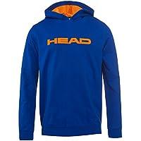 Head - 816103-Byron JR - Sudadera con Capucha de Color Azul/Naranja Flúor