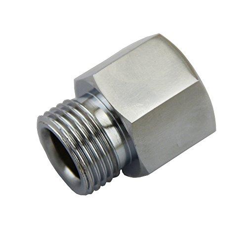 mangobuy CO2 Adapter Gewinde bis W21.8 Adapter Zylinder für Soda stream Gas-Regulatoren Homebrew