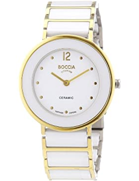 Boccia Damen-Armbanduhr XS Ceramic Analog Quarz Keramik 3209-02