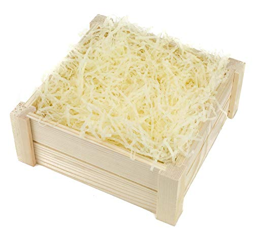 Cream Shredded Tissue Paper - 10...