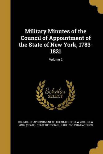 MILITARY MINUTES OF THE COUNCI