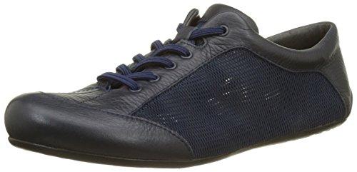 Camper Peu Summer Senda, Sneakers Basses Femme Bleu (Dark Blue 020)