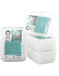Therapie Paraffinbad Kosmetex für Gelenk Paraffin-Bäder, Parfümfrei, Paraffin mit niedrigeren Schmelzpunkt, 4x 500ml