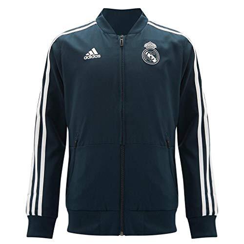adidas Real Madrid- Chaqueta oficial del real madrid para niños (140)